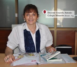 Graciela Antonio de Zuliani, profesora de cuarto grado de Primaria del Colegio Mirasoles (Rosario, Argentina)
